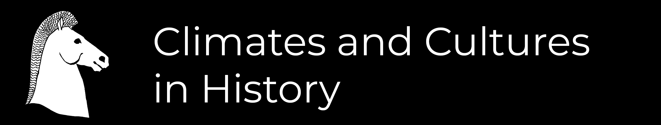 Climate and Cultures in History logo